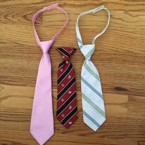 Bundle of ties for baby/toddler
